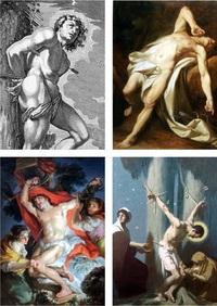 Святой Себастьян в 18-19 веках