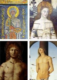 Святой Себастьян в 6-15 веках